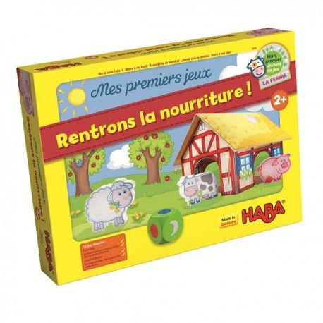 MES PREMIERS JEUX - RENTRONS LA NOURRITURE