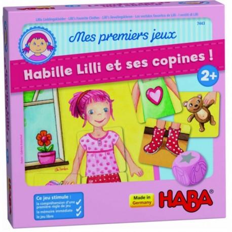 MES PREMIERS JEUX - HABILLE LILI ET SES COPINES