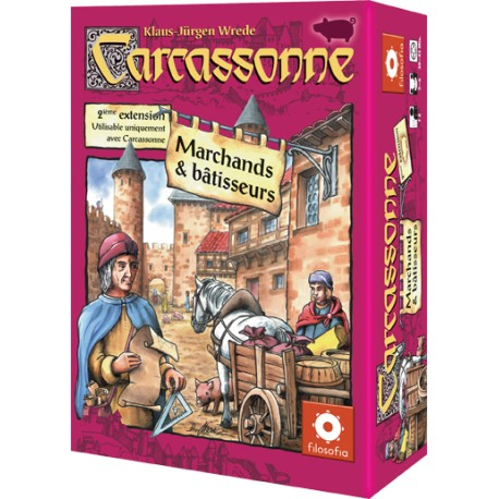 Carcassonne - Marchands & Bâtisseurs