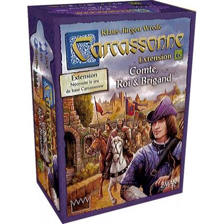Carcassonne - Comte, Roi & Brigand