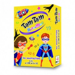 Tam Tam SuperMax - Les Soustractions