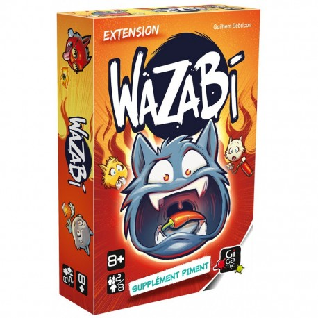 Wazabi - Supplément Piment
